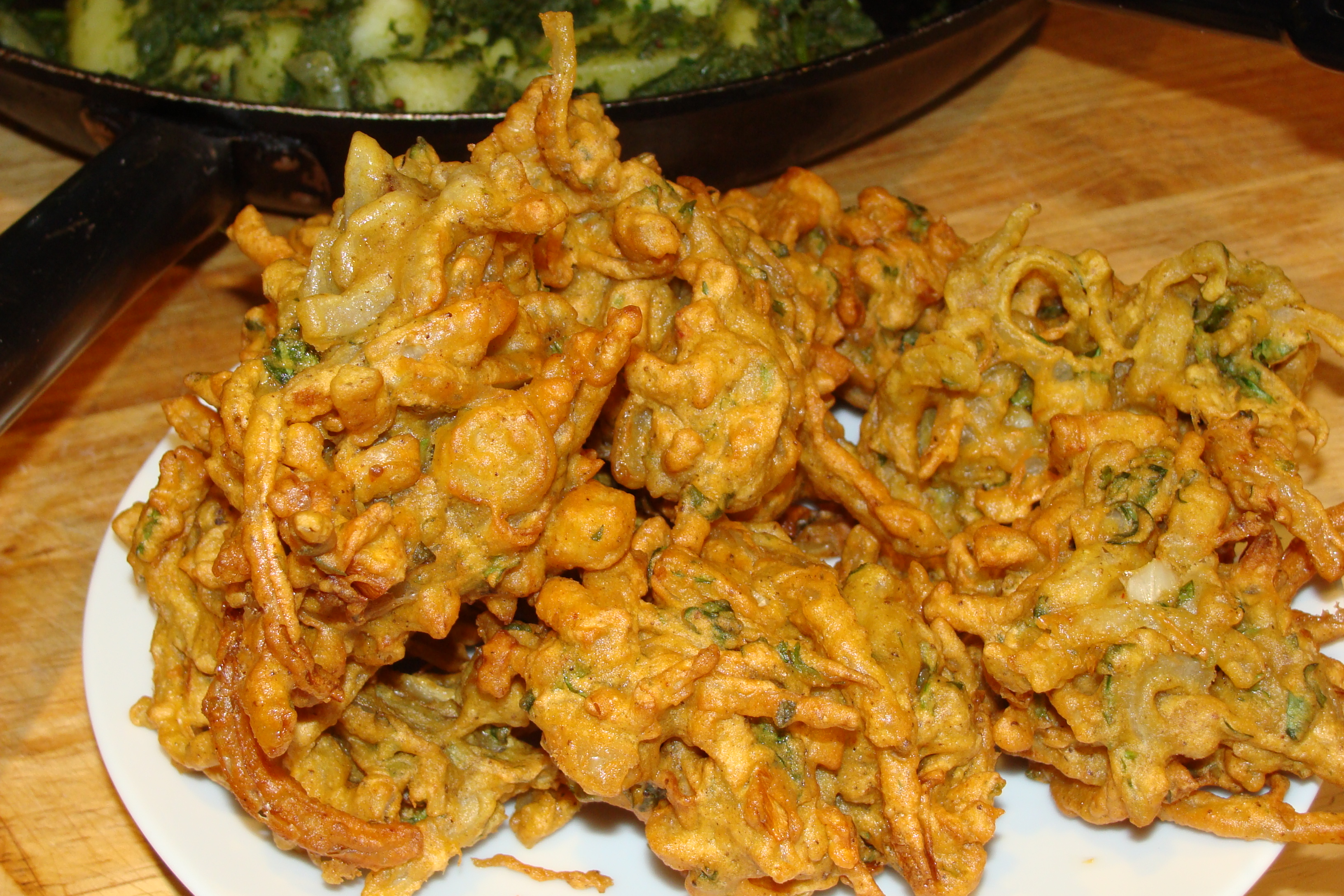 Indian Food Recipes Onion Bhaji